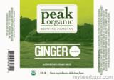 Peak Organic Ginger Saison Beer