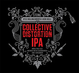 Stone Collective Distortion IPA beer