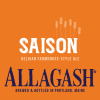 Allagash Saison beer Label Full Size