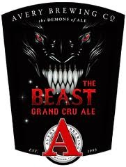 Avery The Beast Grand Cru 2013 beer Label Full Size
