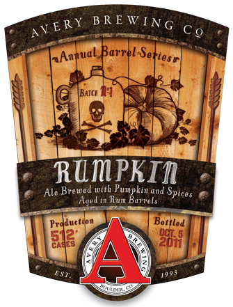 Avery Rumpkin 2013 beer Label Full Size