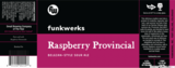 Funkwerks Raspberry Provincial beer