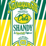Narragansett Del's Shandy Beer