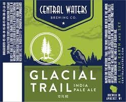 Central Waters Glacial Trail IPA Beer