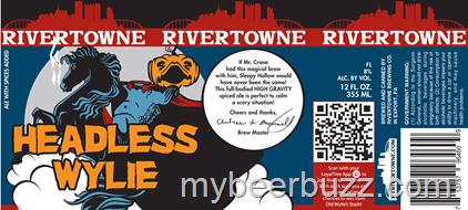 Rivertowne Dayman IPA beer Label Full Size