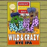 Great South Bay Wild & Crazy Rye IPA beer