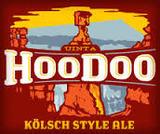 Uinta Hoodoo Kolsch beer