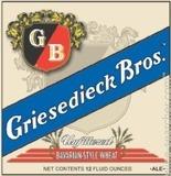 Griesedieck Brothers Bavarian Wheat beer