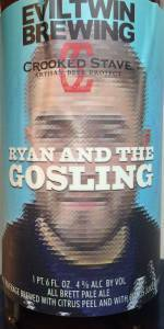 Evil Twin / Crooked Stave Ryan And The Gosling beer Label Full Size