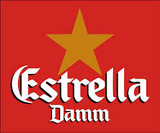 Estrella Damm Lager beer
