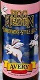 Avery Hog Heaven Wet Hopped Barley Wine beer