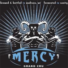 Ale Asylum Mercy beer Label Full Size