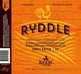 Relic Ryddle Beer