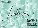 Two Brothers Fathom beer