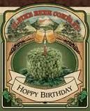 Alpine Hoppy Birthday beer