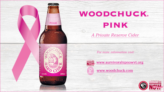 Woodchuck Private Reserve Pink Cider beer Label Full Size