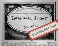 Boulevard Imperial Stout beer Label Full Size