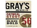 Gray's Oatmeal Stout beer