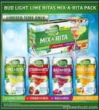 Bud Light Mix-A-Rita Beer