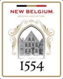 New Belgium 1554 Enlightened Dark Ale beer