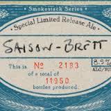Boulevard Smokestack Series Saison Brett beer Label Full Size