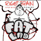 Right Brain Fat Lad beer Label Full Size