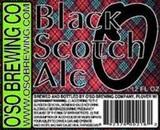 Oso Black Scotch Ale beer
