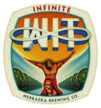 Nebraska Infinite Wit beer Label Full Size