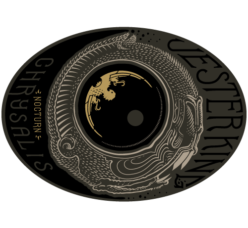 Jester King Nocturn Chrysalis beer Label Full Size