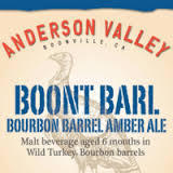 Anderson Valley Boont Barl beer