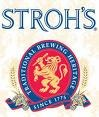 Strohs beer Label Full Size