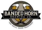 Banded Horn Pepperell Pilsener beer