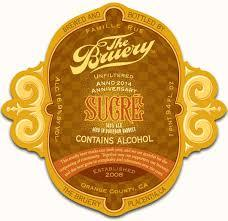 Bruery Sucre beer Label Full Size