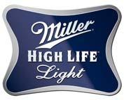 Miller High Life Light beer Label Full Size