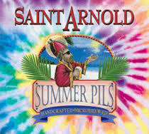 Saint Arnold Summer Pilsner beer Label Full Size