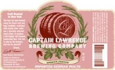Captain Lawrence Smoked Porter beer Label Full Size