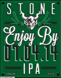 Stone Enjoy By 07.04.14 beer