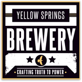 Yellow Springs Daily's Comet beer Label Full Size