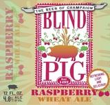 Blind Pig Raspberry Wheat Beer