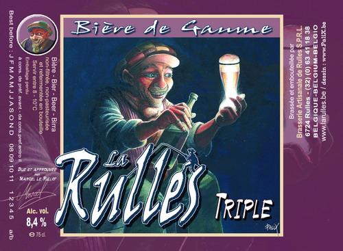 Brasserie La Rulles Triple Beer