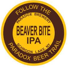 Paradox Beaver Bite IPA beer Label Full Size