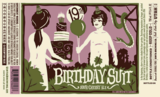 Uinta Crooked Line Birthday Suit 21st Anniversary Beer