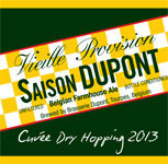 Saison Dupont Cuvée Dry Hopping 2013 beer