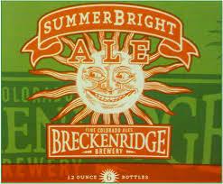 Breckenridge SummerBright Ale beer Label Full Size