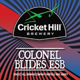 Cricket Hill Colonel Blides ESB beer