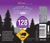 Anderson Valley Holygose beer