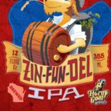 Horny Goat Zin-Fun-Del IPA Beer