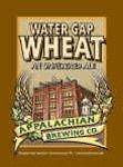 Appalachian Water Gap Wheat beer Label Full Size