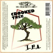 Dark Horse Crooked Tree IPA beer Label Full Size