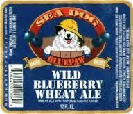 Sea Dog Blueberry Wheat Ale beer Label Full Size